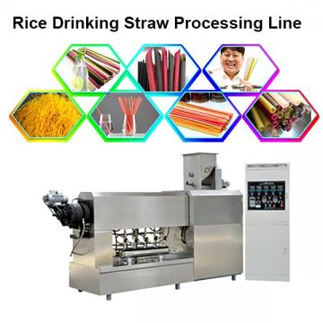 Macaroni Pasta Degradable Drinking Straw Production Line Extruder Making Machines