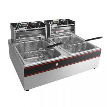Astar Electric Table Top Deep Fryer for Sale Single Tank Commercial Kitchen Fryer
